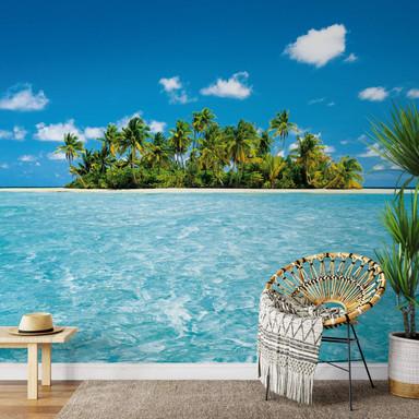 Fototapete Papiertapete Malediven Traum - Bild 1