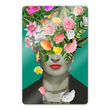 Glasbild Feldmann - Frida Floral