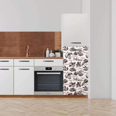 Klebefolie - Hochschrank (60x120cm) - Spices- Bild 1