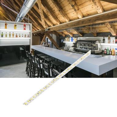 LED Profil-Stripe Stand, 3000 mm, 24V, 3000K, 4800 lm, Wärmeableitung muss gewährleistet sein