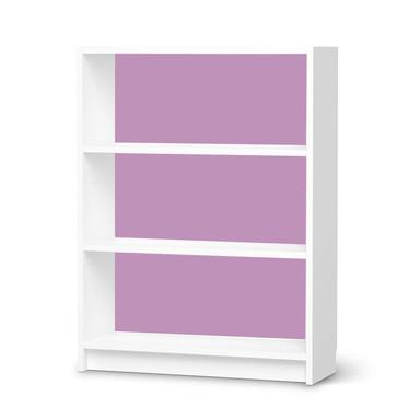 Möbelfolie IKEA Billy Regal 3 Fächer - Flieder Light