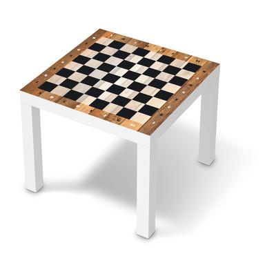Möbelfolie IKEA Lack Tisch 55x55cm - Spieltisch Schach