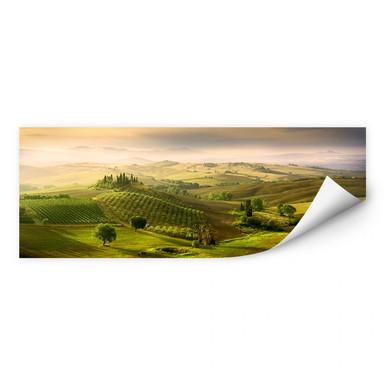 Wallprint Bratkovic - Podere Belvedere - Panorama