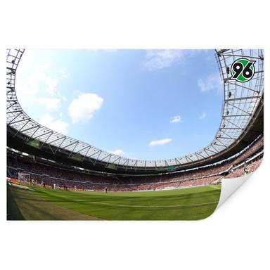 Wallprint Hannover 96 - Stadion Innenansicht