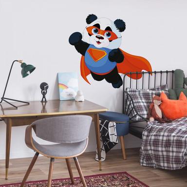 Wandtattoo Super-Panda