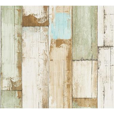 A.S. Création Vliestapete il Decoro Tapete in Vintage Holz Optik beige, braun, creme