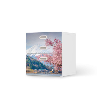 Folie IKEA Stuva / Fritids Kommode - 3 Schubladen - Mount Fuji