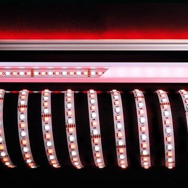 LED Stripe 5050-96-24V-Rgb&6200K-5M in Weiss 3700lm