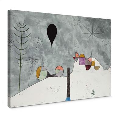 Leinwandbild Klee - Winterbild