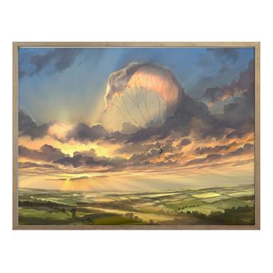 Poster aerroscape - Wolkenflug