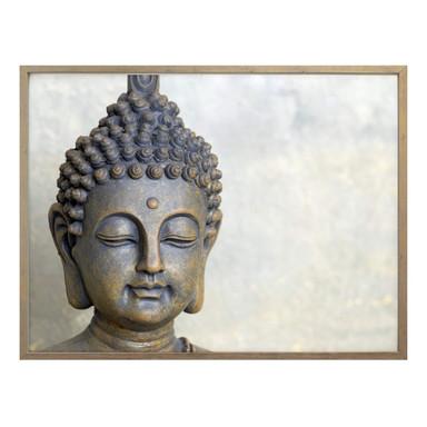 Poster Buddha Gesicht
