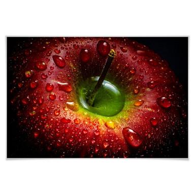 Poster Ianeva - Roter Apfel