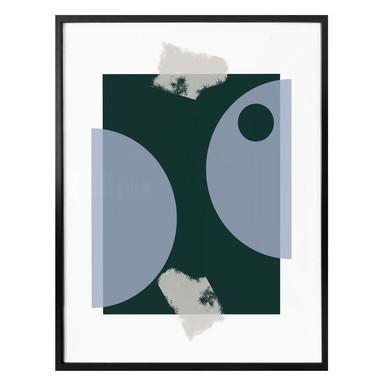 Poster Nordic Creators - Blue & Green