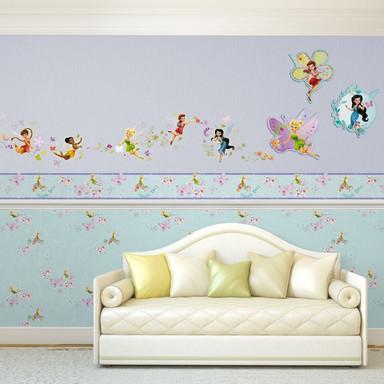 Wandsticker-Set Disney Fairies 57-teilig