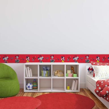 Wandtattoo Bordüre Minnie Mouse - Bild 1