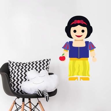 Wandtattoo Gomes - Schneewittchen Spielzeug