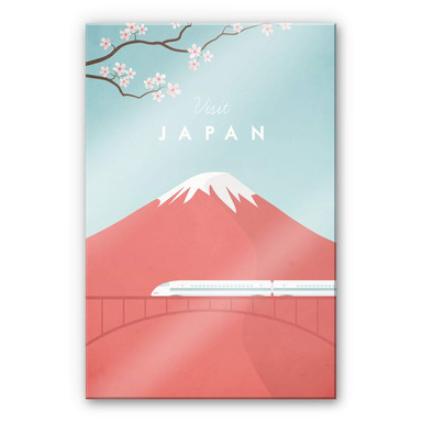Acrylglasbild Rivers - Japan