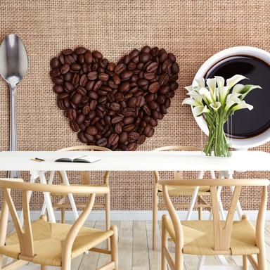 Fototapete I love Coffee
