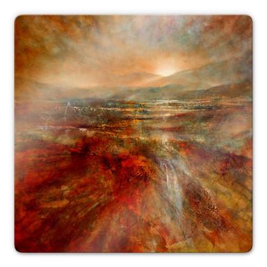 Glasbild Schmucker - Sonnenaufgang