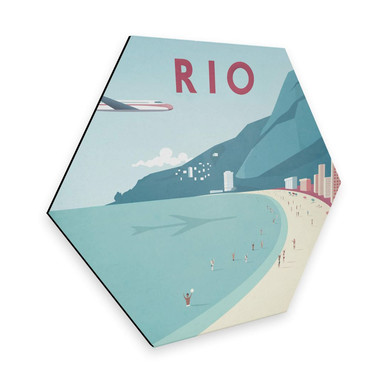 Hexagon - Alu-Dibond Rivers - Rio de Janeiro