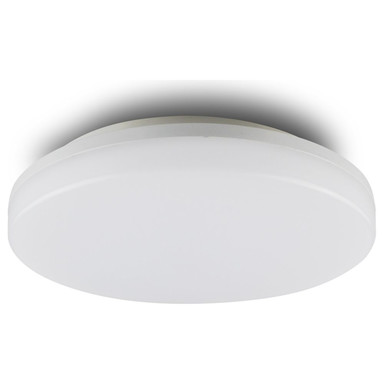 LED Decken/Wandleuchte 24W, rund, IP54. ColorSwitch 3000K 4000K, weiss