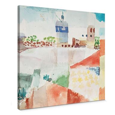 Leinwandbild Klee - Hammamet mit der Moschee