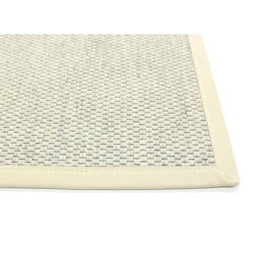 Saba Wollweb 3cm Bordürenteppich | Wunschmass | Rechteckig | Nature | Nature 00