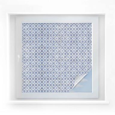 Sichtschutzfolie Holland-Kacheln 01 - quadratisch