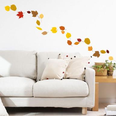 Wandsticker Blätter Set Herbst 1
