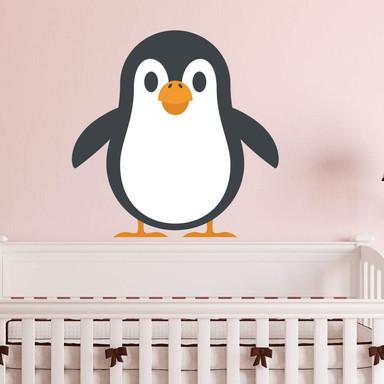 Wandtattoo Emoji Pinguin