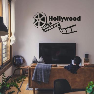 Wandtattoo Hollywood 2
