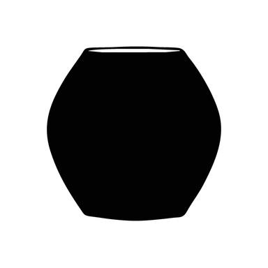 Wandtattoo Vase 8