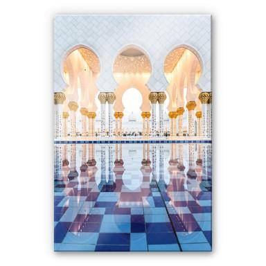 Acrylglasbild Colombo - Sheikh Zayed Moschee in Abu Dhabi