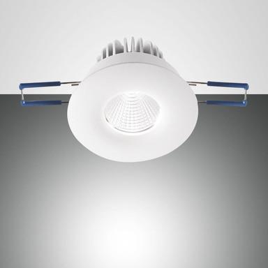 LED Spot Set Sigma in transparent und weiss 7W 800lm rund
