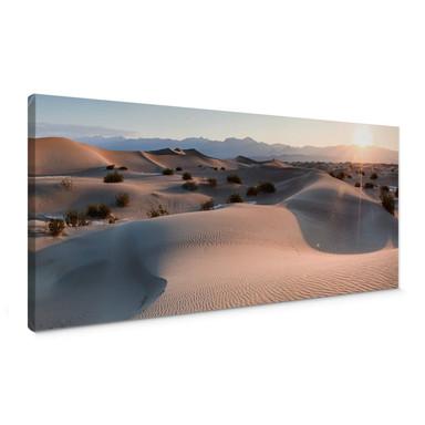 Leinwandbild Colombo - Die Wüste von Death Valley - Panorama