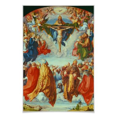 Poster Dürer - Das Allerheiligenbild