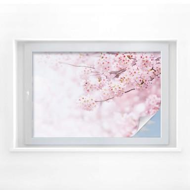 Sichtschutzfolie Zarte Kirschblüten