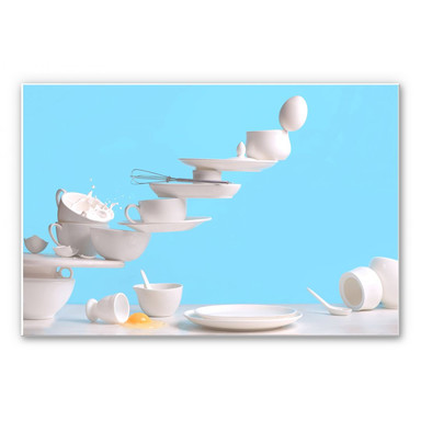 Wandbild Belenko - One touch Omelette