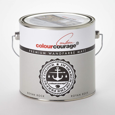 colourcourage® Premium Wandfarbe matt Royan Rock
