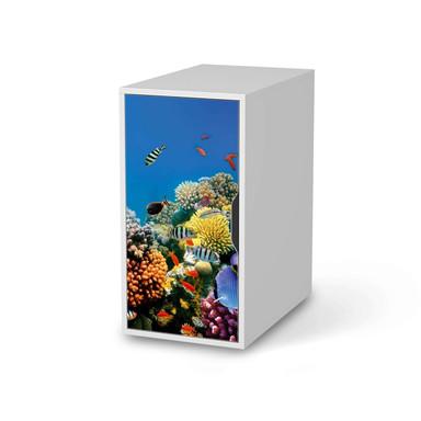 Möbelfolie IKEA Alex Schrank - Coral Reef