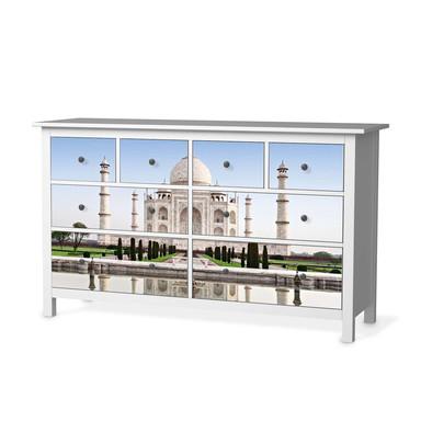 Möbelfolie IKEA Hemnes Kommode 8 Schubladen - Taj Mahal