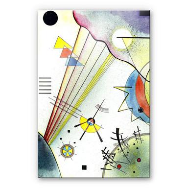 Acrylglasbild Kandinsky -Deutliche Verbindung