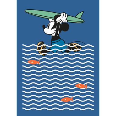 Fototapete Mickey gone Surfin'