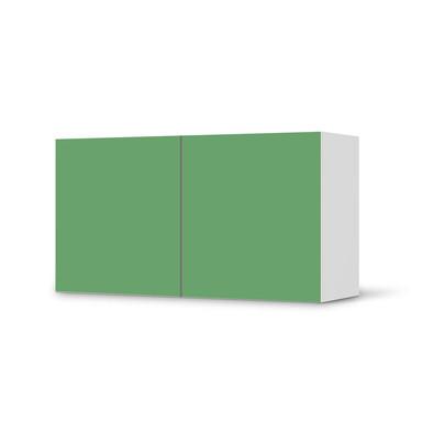 Folie IKEA Besta Regal 2 Türen (quer) - Grün Light- Bild 1