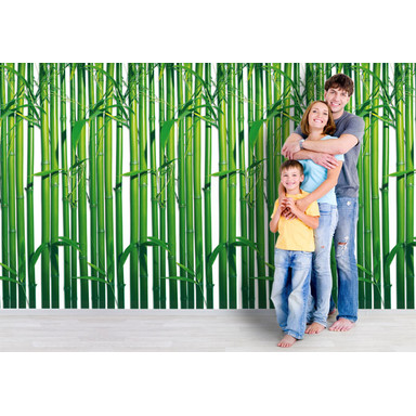 Fototapete Papiertapete Bambuswald - Bild 1