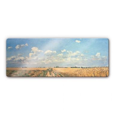 Glasbild Pissarro - Sommer