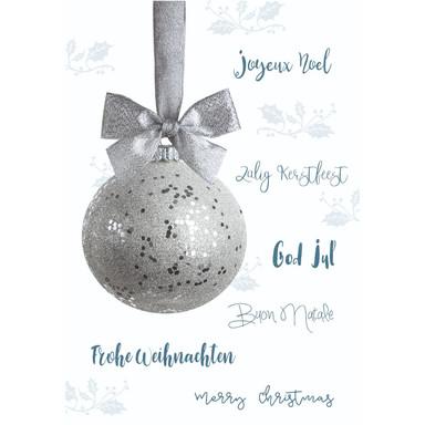Gutschein Weihnachten - Christbaumkugel