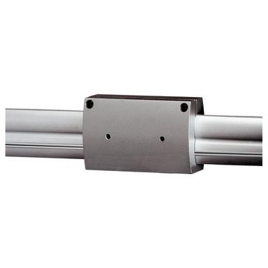 Isolierter Längsverbinder für Easytec II in silbergrau - Bild 1
