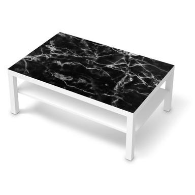 Klebefolie IKEA Lack Tisch 118x78cm - Marmor schwarz- Bild 1