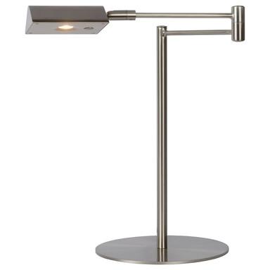 LED Schreibtischlampe Nuvola 9W 3000K 640lm in Chrom-matt